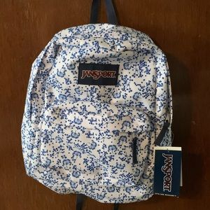 Jansport backpack floral back to school pretty 🌸